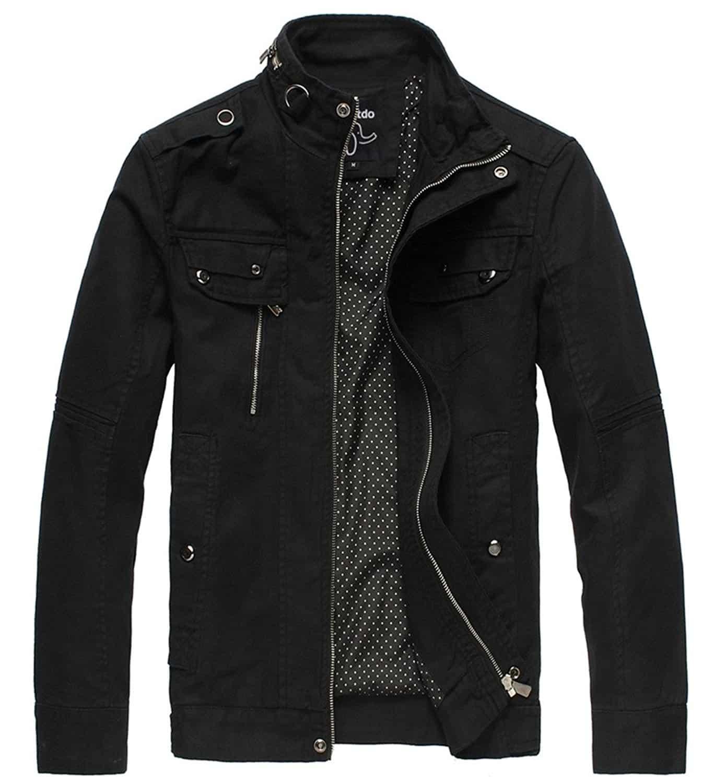 Wantdo Men's Cotton Field Jacket