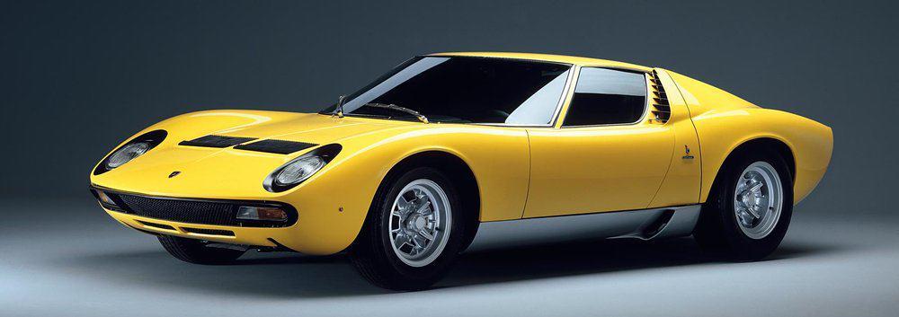 1966 Lamborghini Miura – vintage car