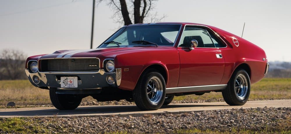 1968 AMC AMX – vintage car