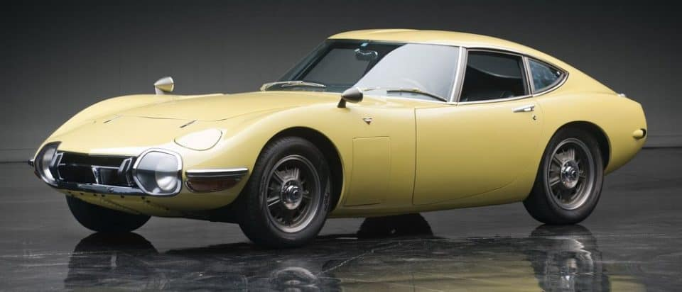 1969 Toyota 2000GT vintage car 960x412 22 Vintage Cars You Should Add To Your Collection