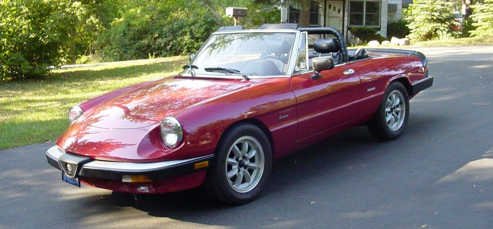 1989 Alfa Romeo Spider – vintage car
