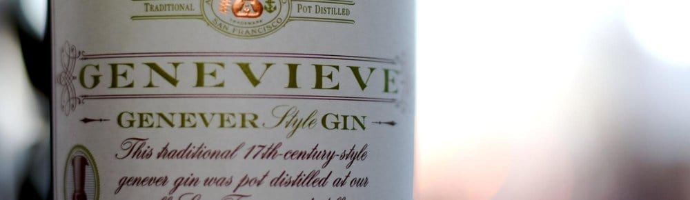 Anchor Distilling Company Genevieve – best gin