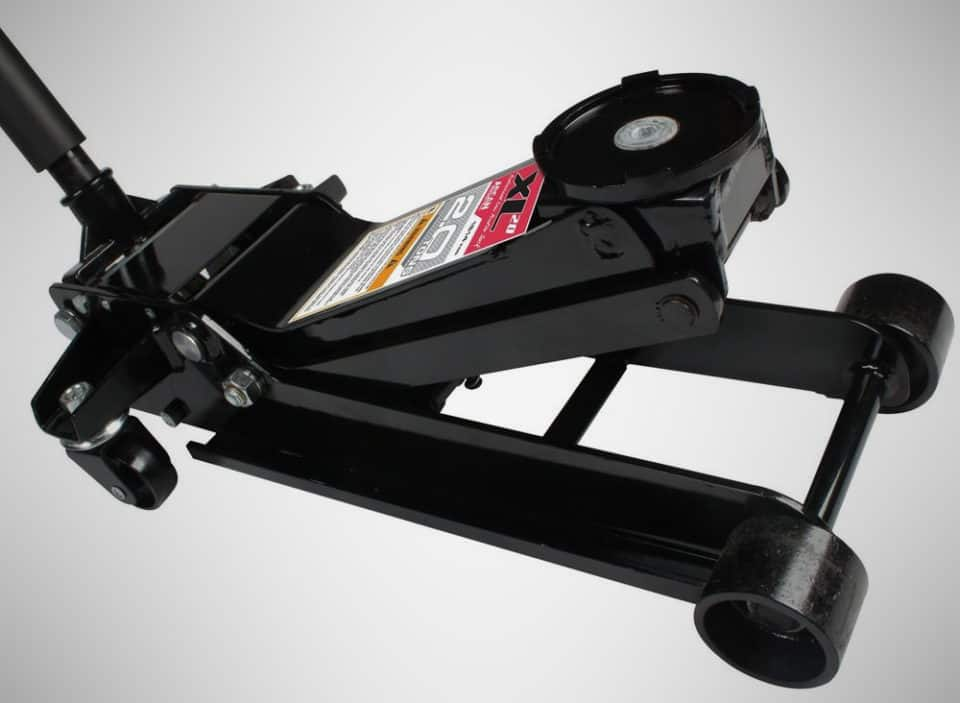 Arcan XL2T Black Low Profile Steel Service Jack mechanic tools 1 960x703 21 Tools Every Shadetree Mechanic Should Have On Hand