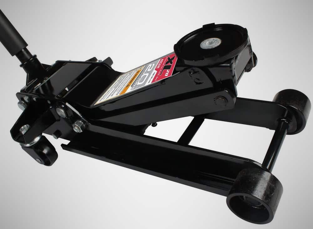 Arcan XL2T Black Low Profile Steel Service Jack – mechanic tools