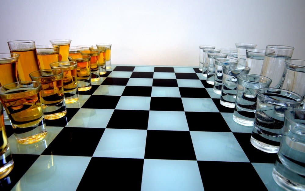 Beer Chess – drinking game