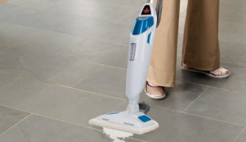 Bissell PowerFresh Steam Mop 1940 clean bathroom 345x200 18 Bathroom Products That Will Make Your House Cleaner