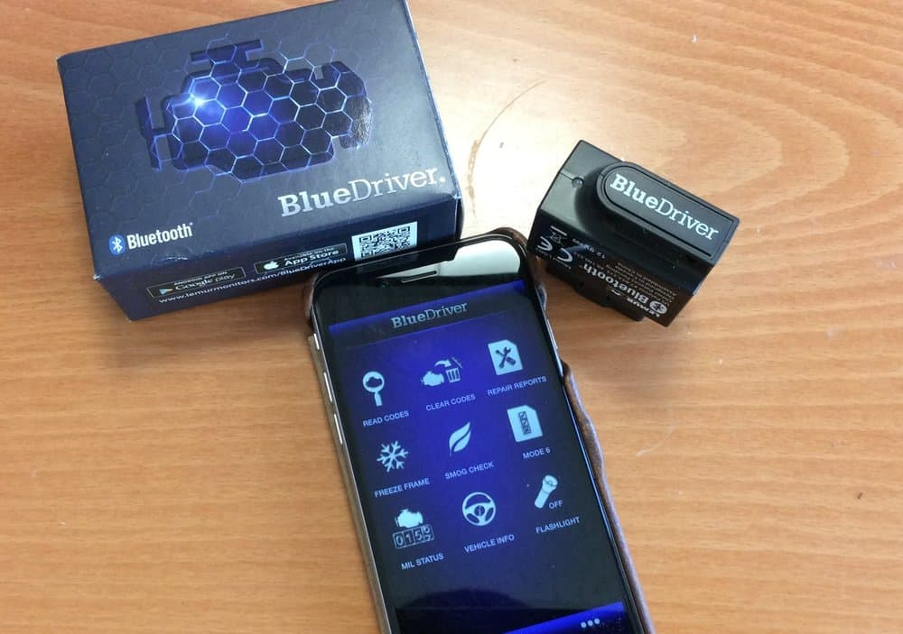 BlueDriver Bluetooth OBDII Scan Tool – mechanic tools