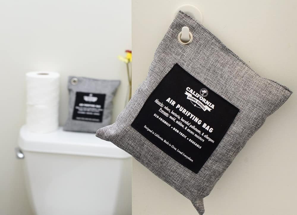 California Home Activated Bamboo Charcoal Deodorizer – clean bathroom