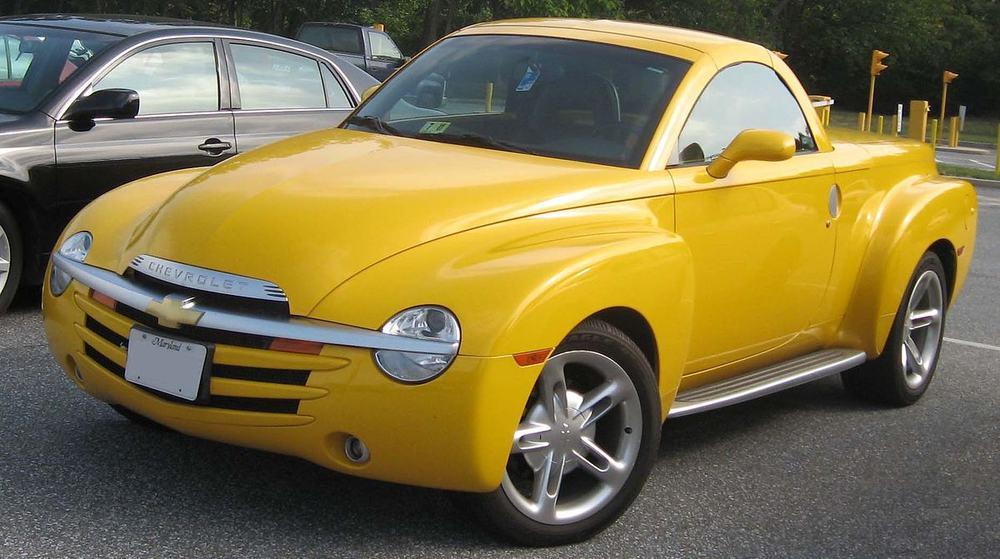 Chevy SSR – best bad car