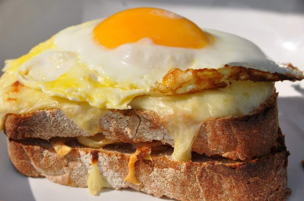 Croque Madame – best sandwich