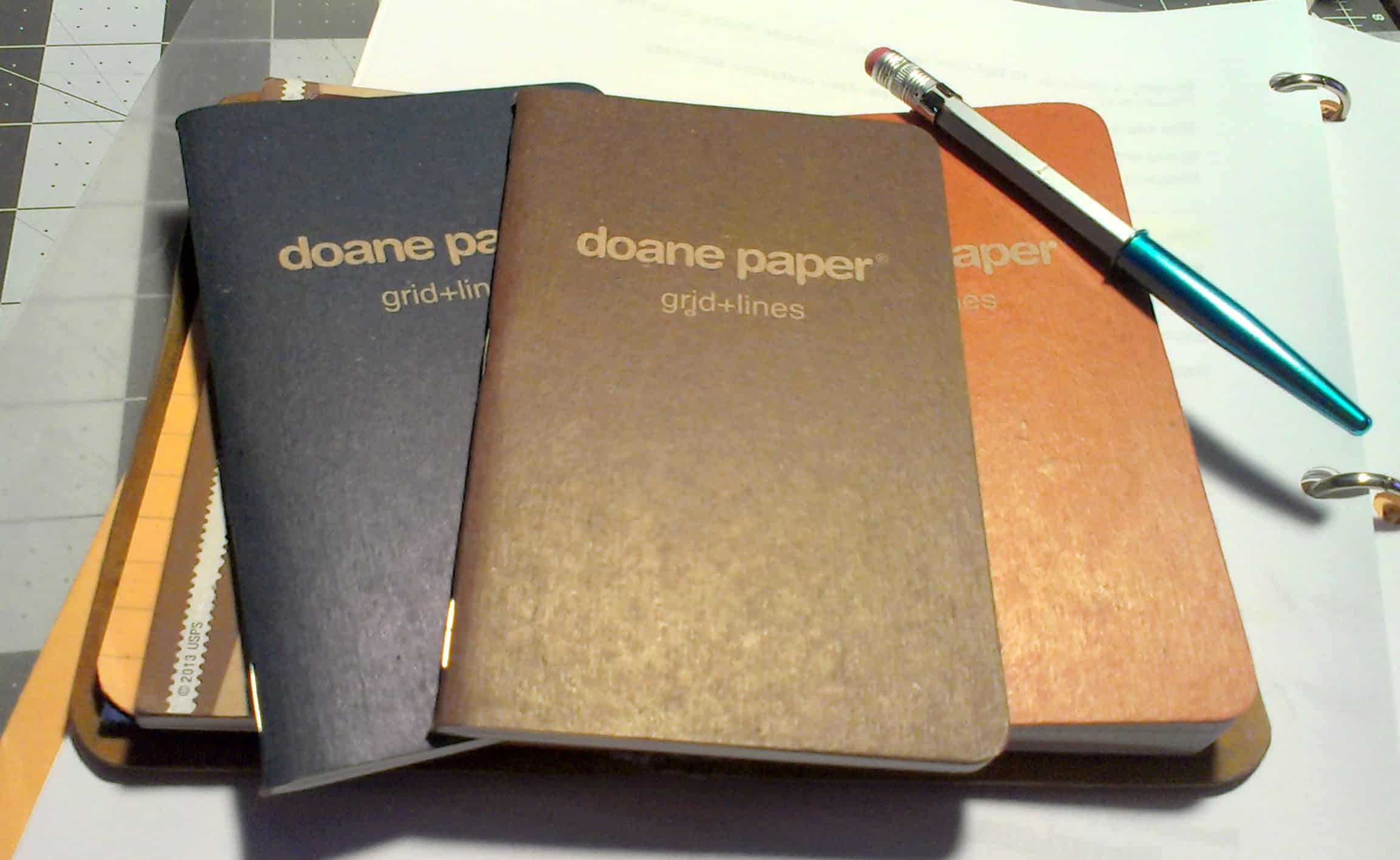 Doane Utility EDC Notebook