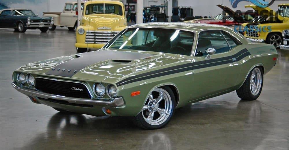 Dodge Challenger 1972 – vintage car