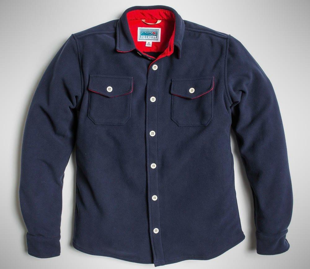 Edgevale Bonded Fleece Shirt Jacket
