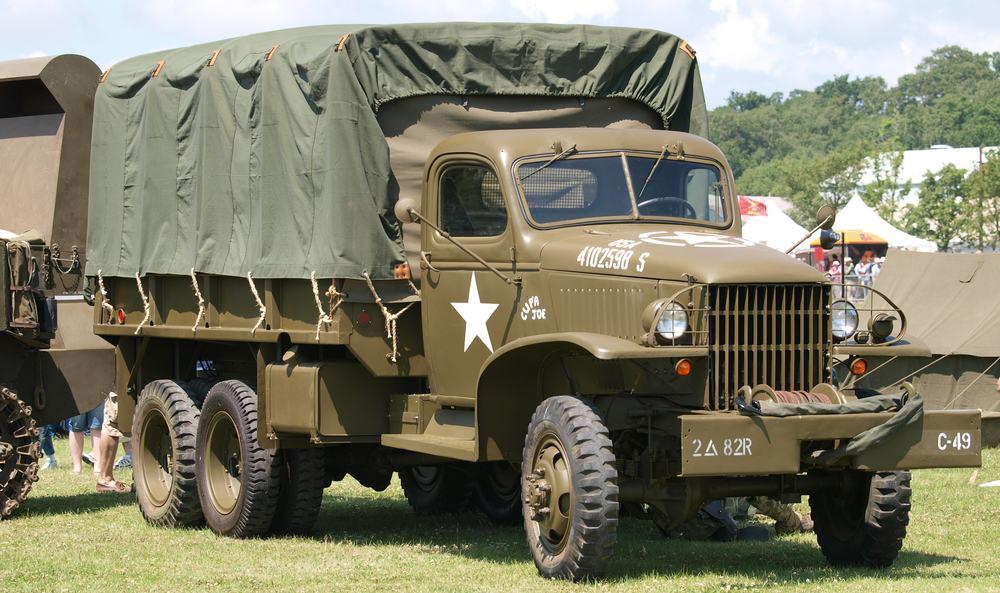 GMC Deuce-and-a-Half – adventure vehicle