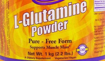 Glutamine workout supplement 345x200 Fuel Pump: 10 Required Workout Supplements For Athletes