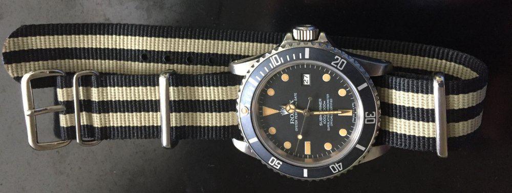 Gnomon – NATO watch strap