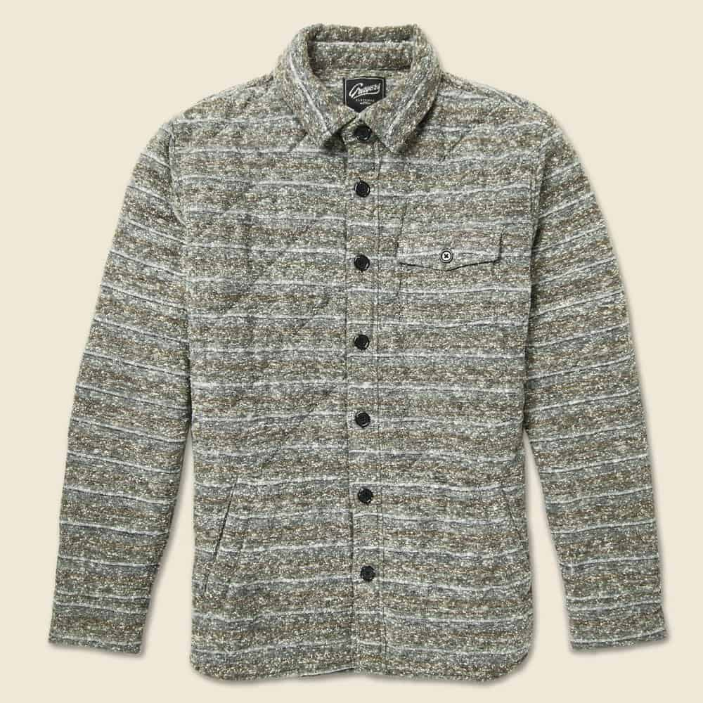 Grayers Dylan Quilted – shirt jacket