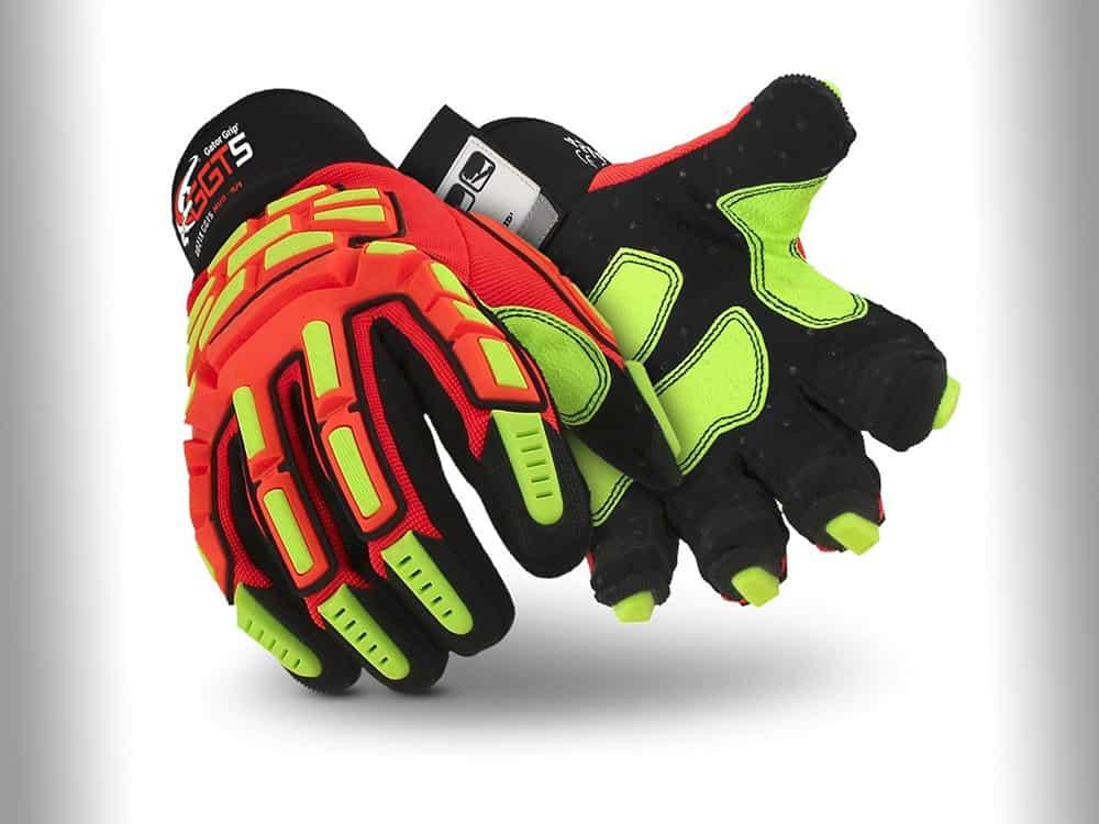 HexArmor GGT5 Series 4021X High Vis Work Gloves