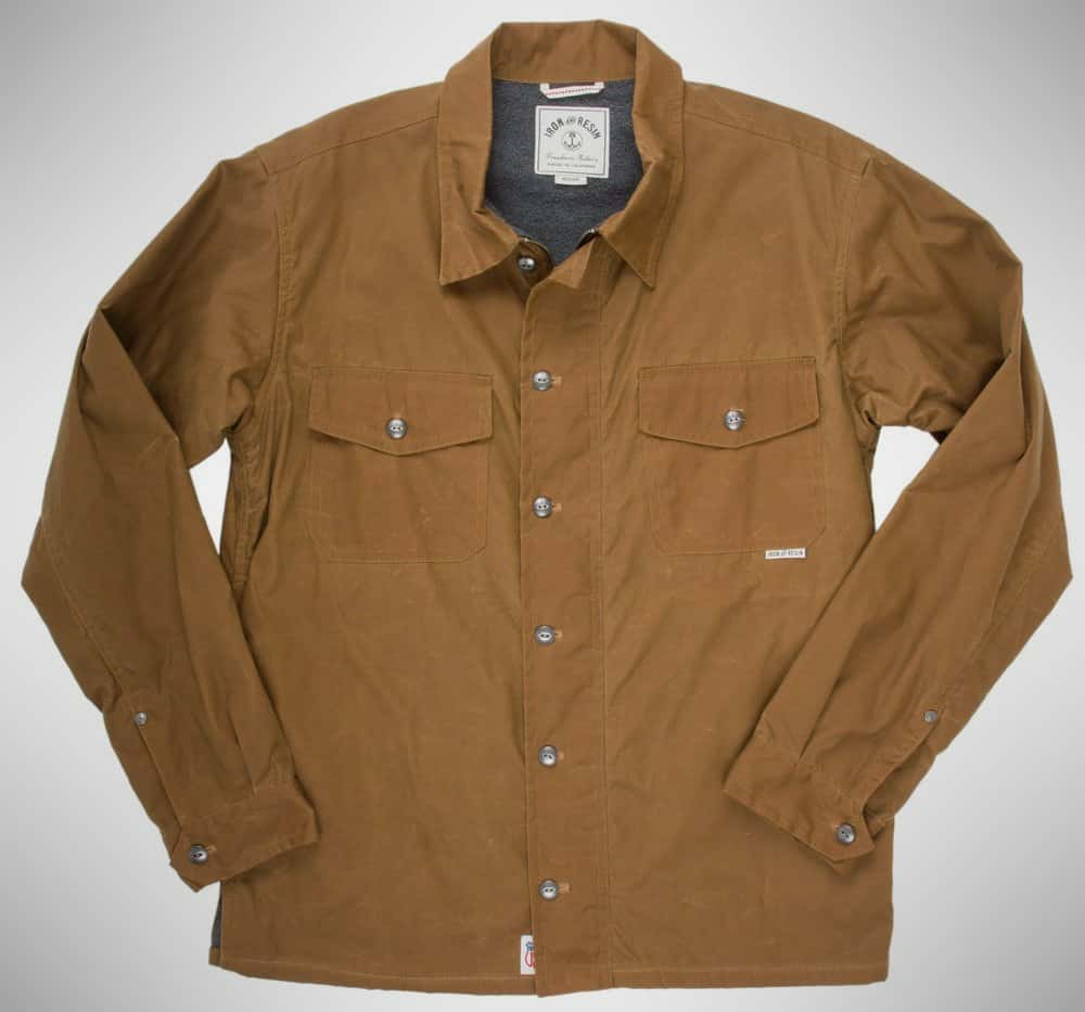 Iron and Resin Shelter Shirt Jacket
