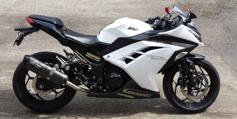 Kawasaki Ninja 250 – first motorcycle