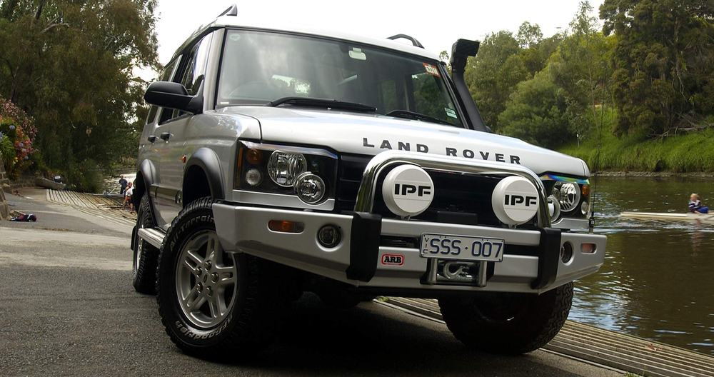 Land Rover Discovery II – adventure vehicle