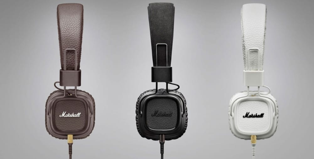 Marshall On-Ear Headphones Major II