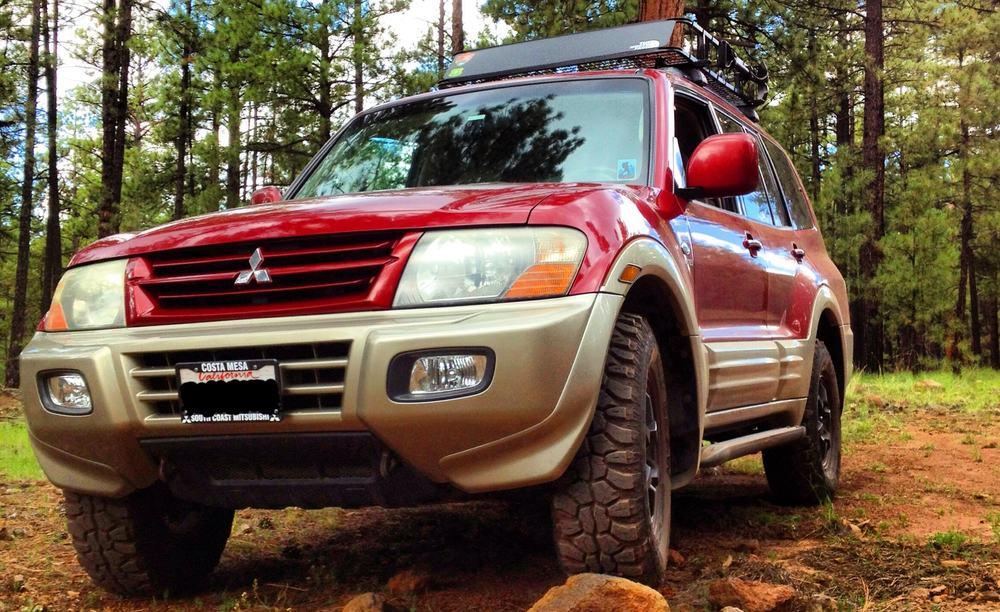 Mitsubishi Montero – adventure vehicle
