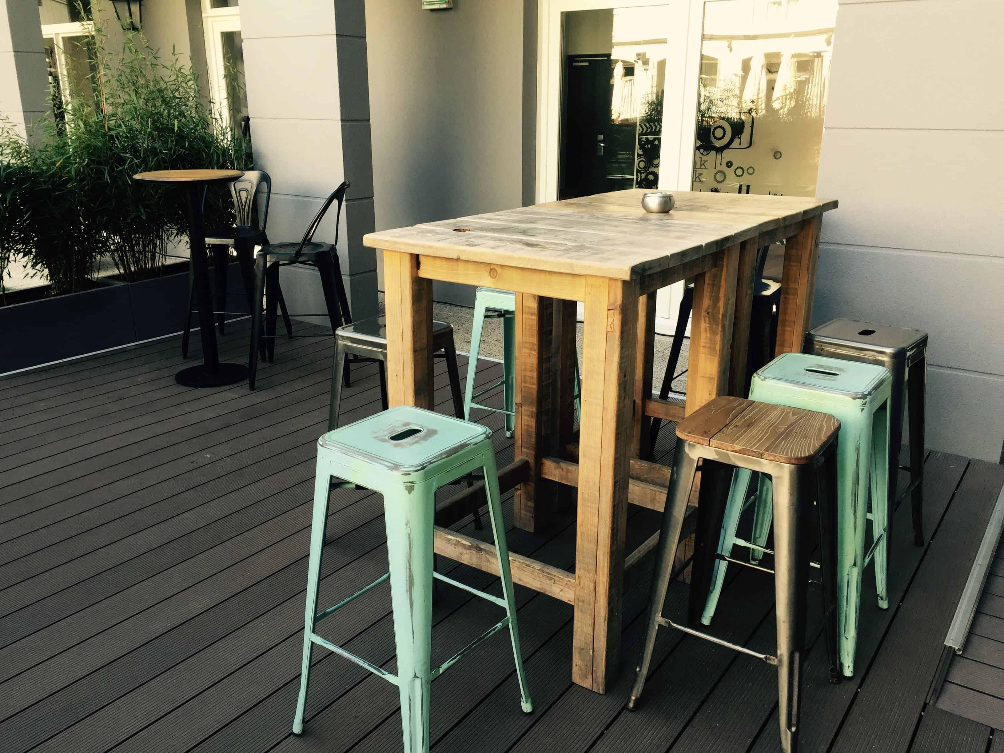 Modern outdoor furniture – pentahotel paris