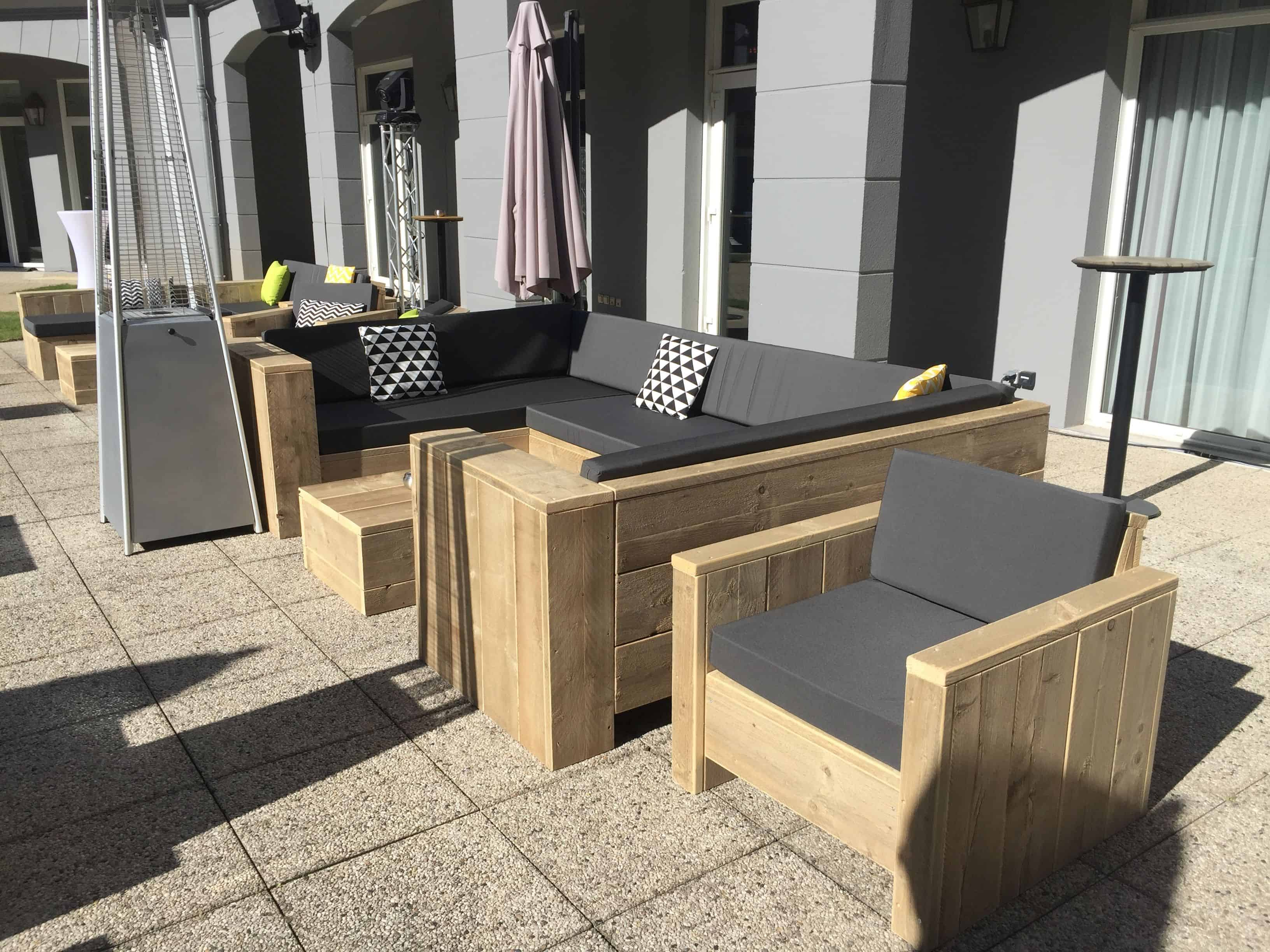 Outdoor furniture for hotels – pentahotel paris