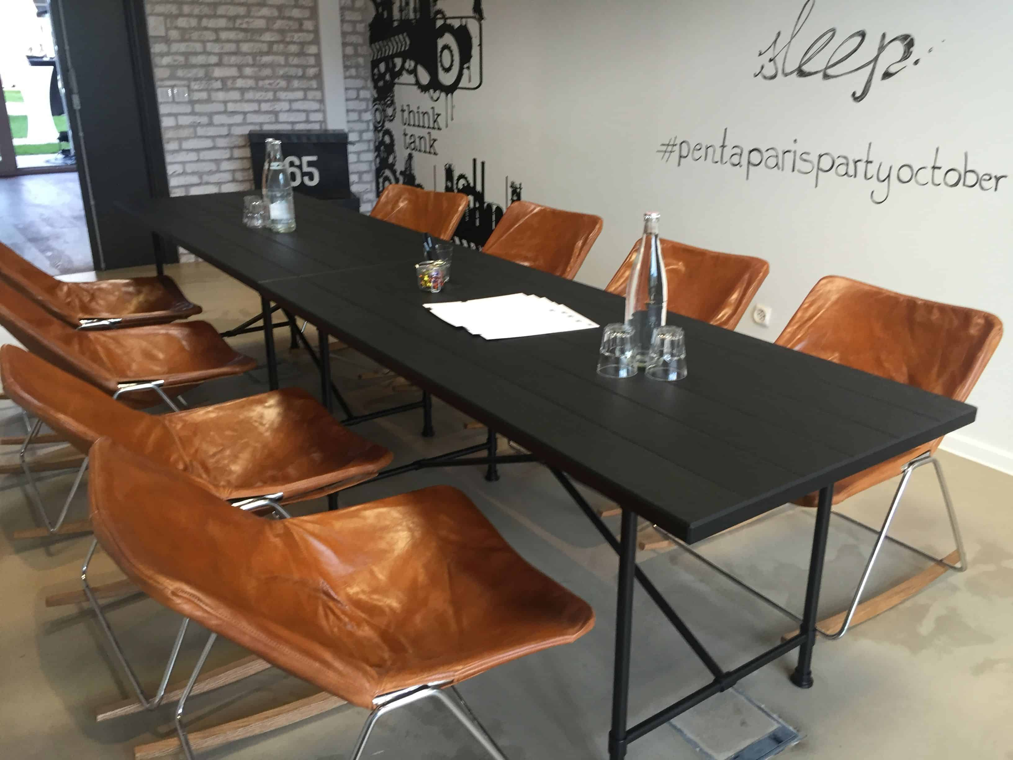 Playful conference rooms – pentahotel paris