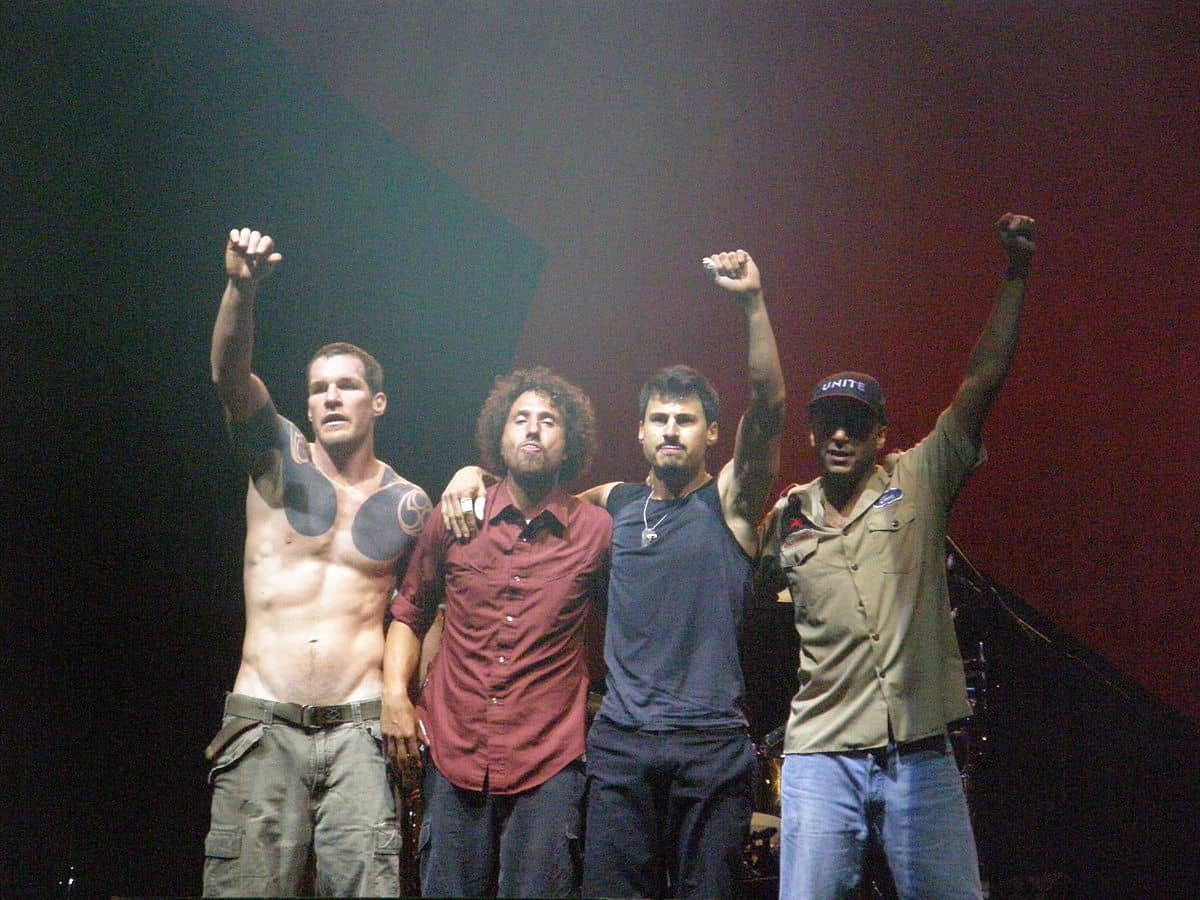 Rage Against The Machine – 90's band