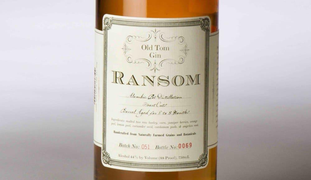 Ransom Old Tom – best gin