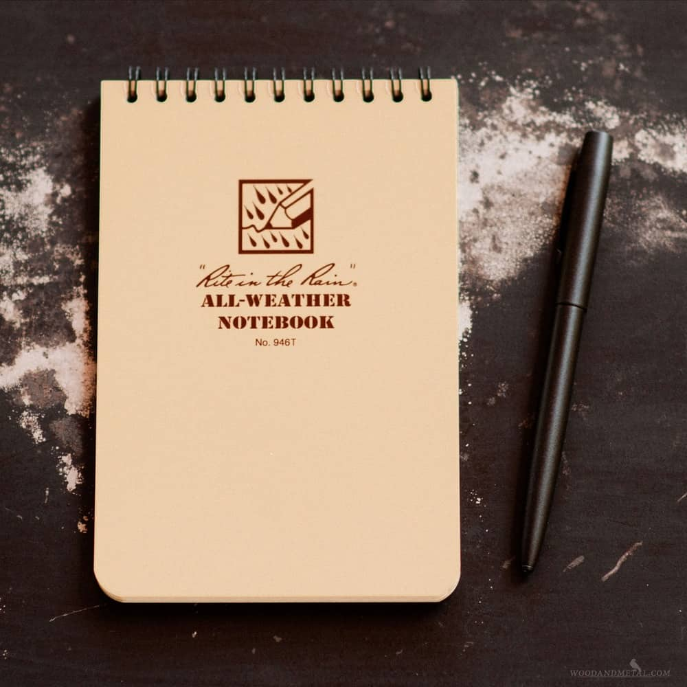 Rite in the Rain Top Spiral Pocket EDC Notebooks