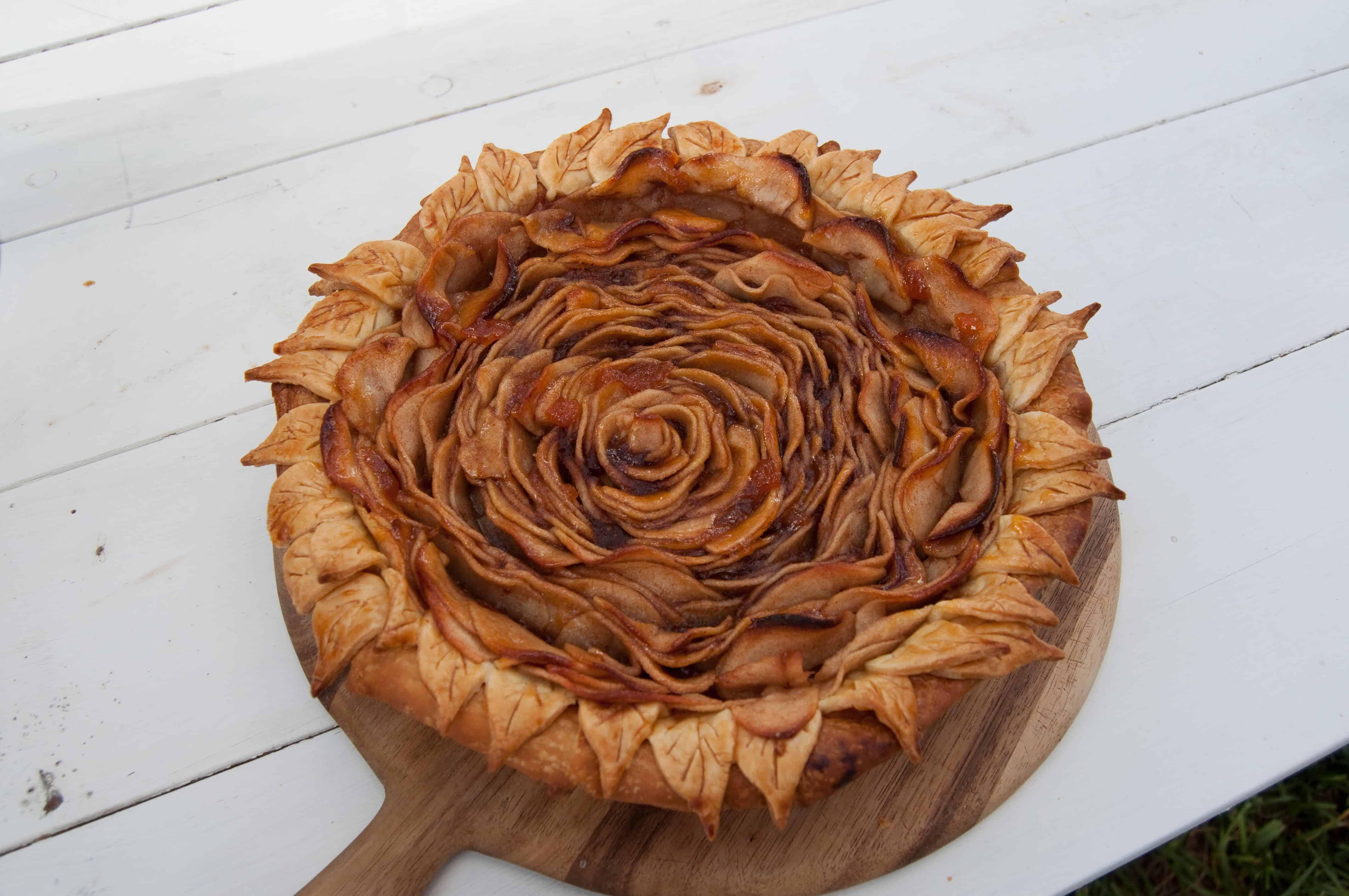 Rose Pie Insane Baking Creations