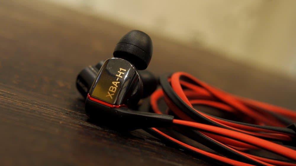 Sony XBA-H1 – cheap earbuds