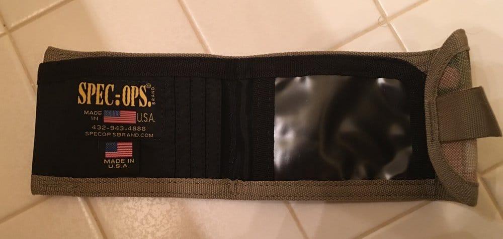Spec Ops THE Wallet Tactical