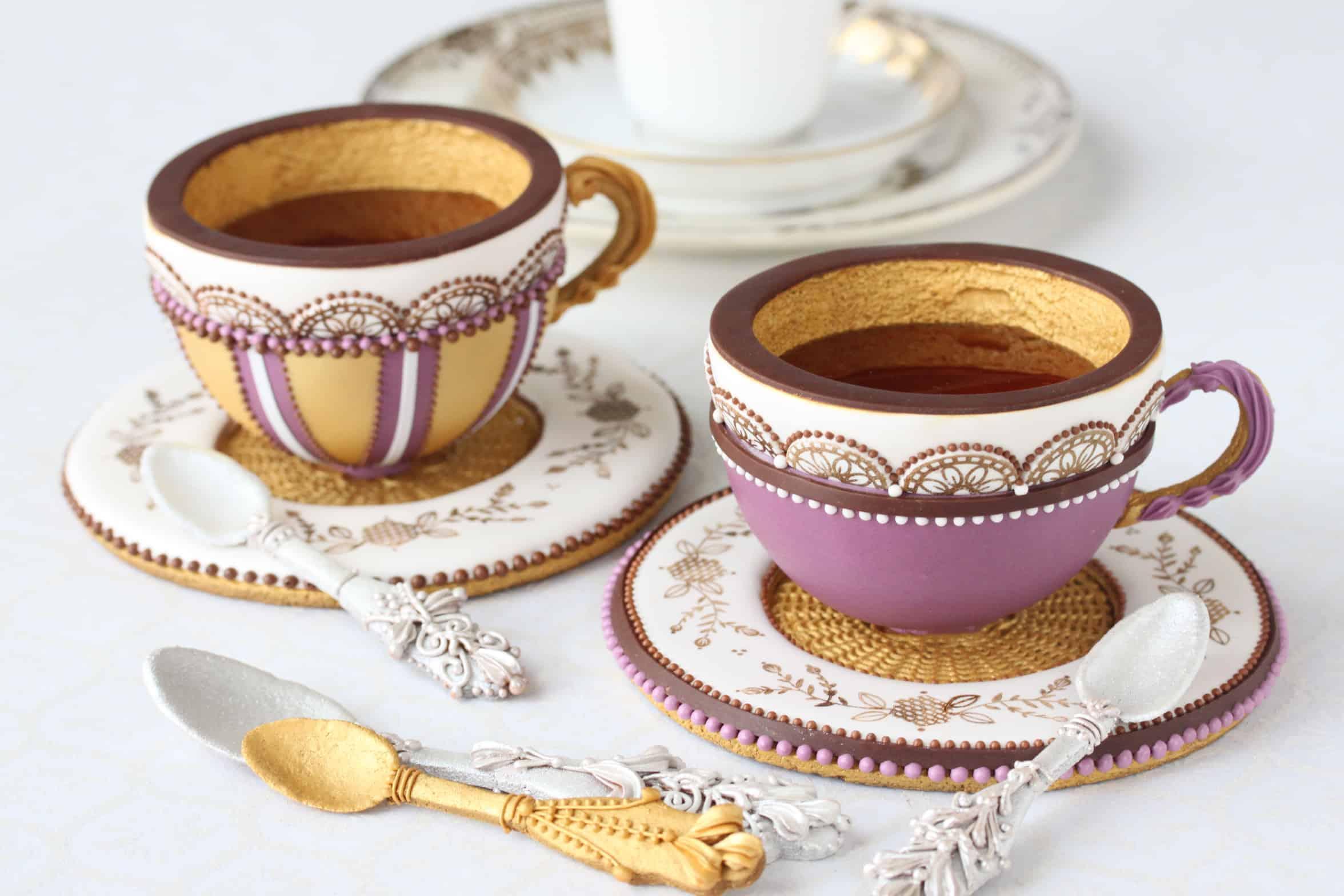 Teacup Cookies Insane Baking Creations