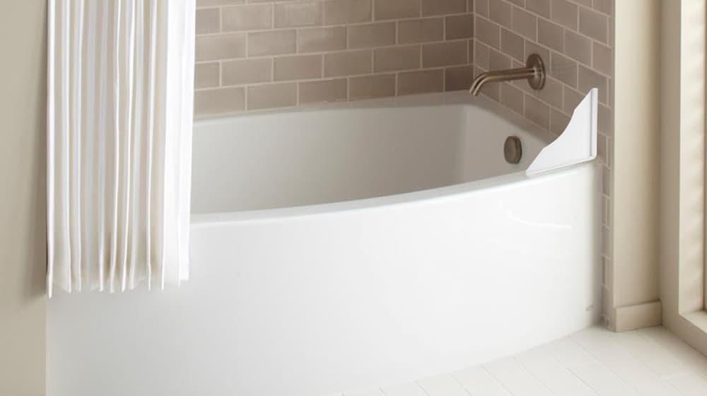 Tidee Tubb Splash Guards – clean bathroom
