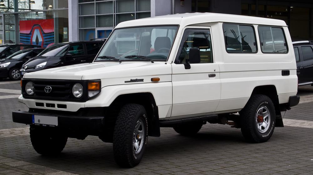 Toyota Land Cruiser – adventure vehicle