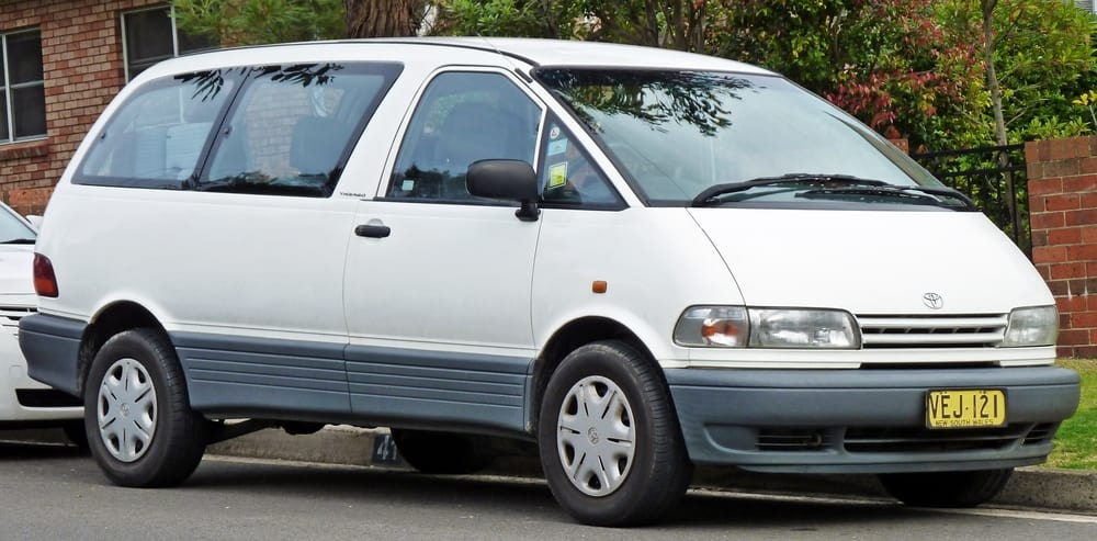 Toyota Previa – best bad car