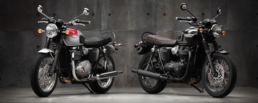 Triumph Bonneville – first motorcycle