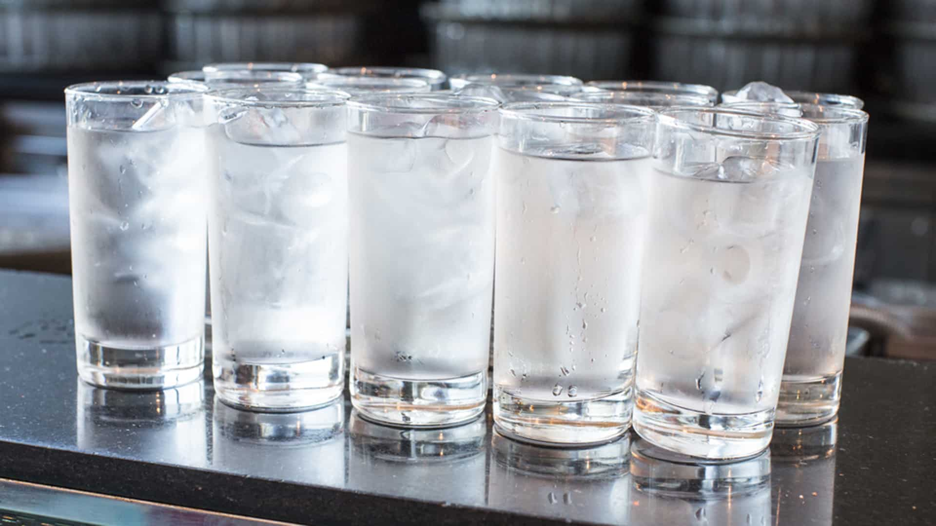 Water – hangover cures