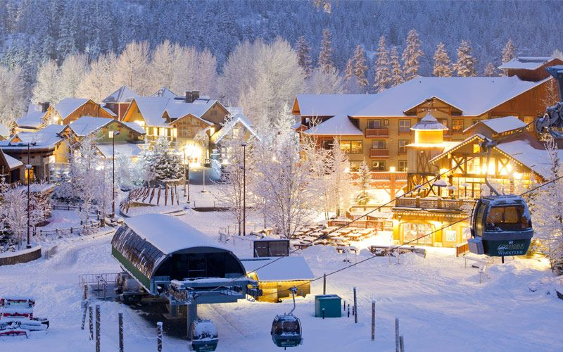 Whistler Canada winter destination Snow Bird Sojourns: 9 Winning Winter Travel Destinations