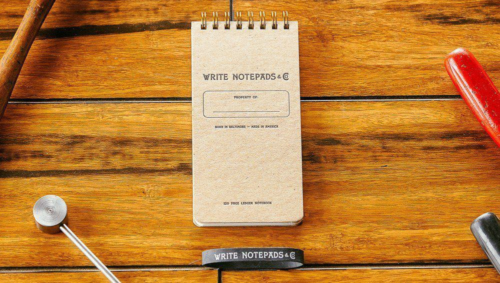 Write Notepads & Co. Pocket Ledger – edc notebook