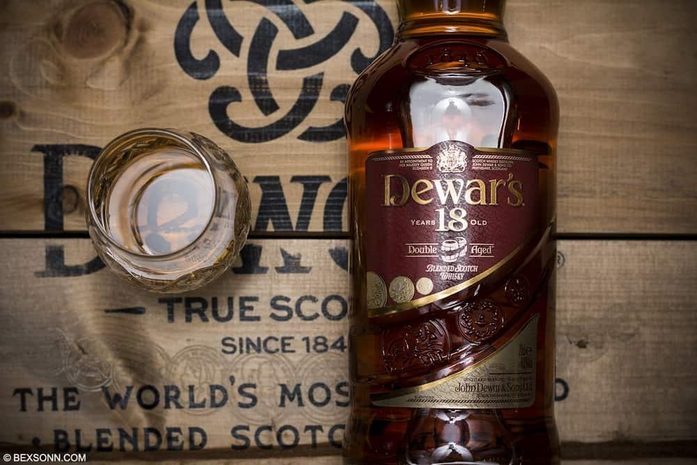 96 Dewar's 18 – blended scotch