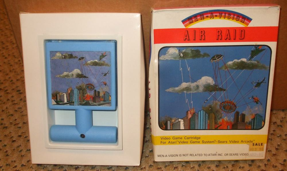 Air Raid – valuable video game