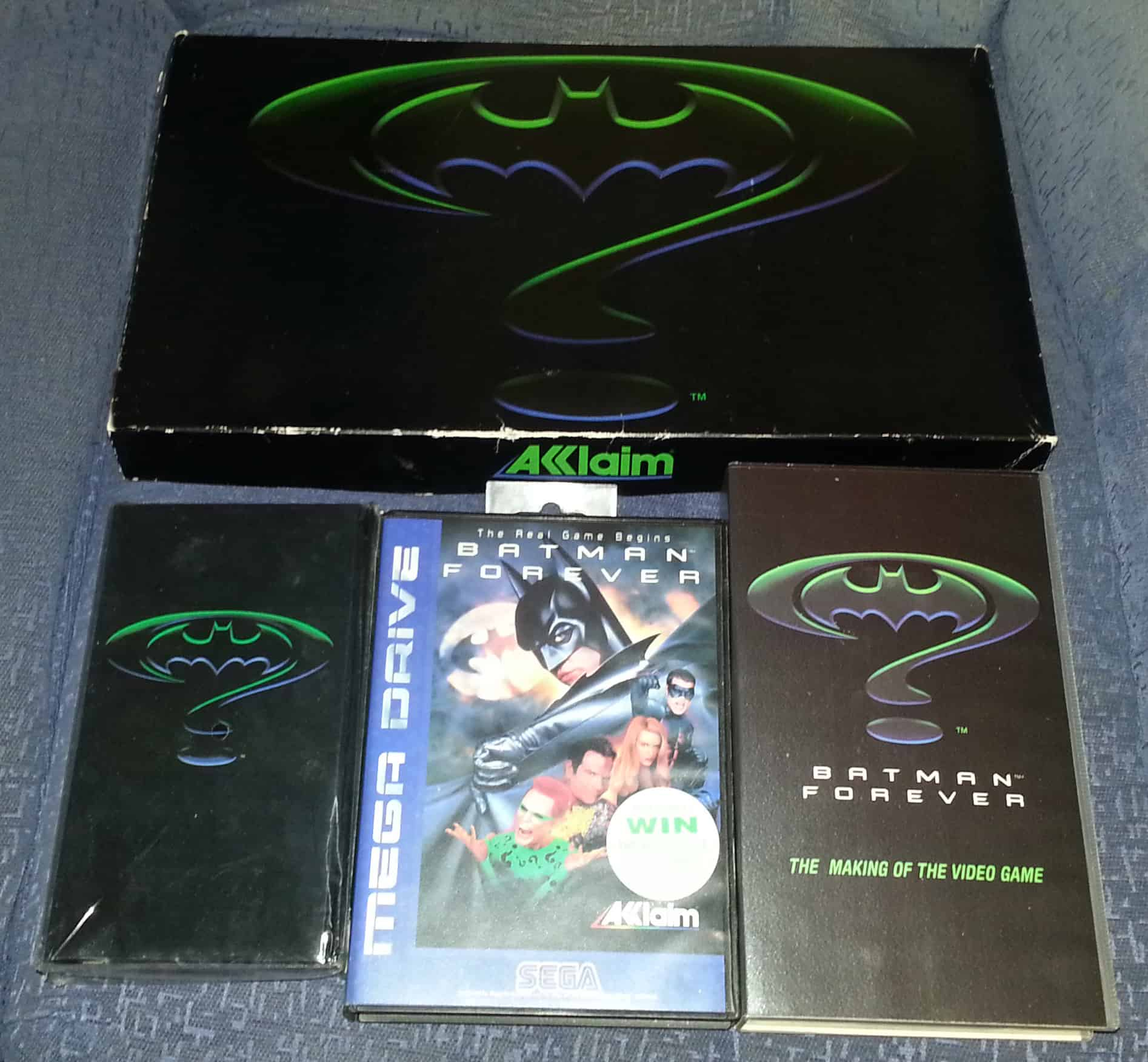 Batman Forever Woolworths Box Set – valuable video game