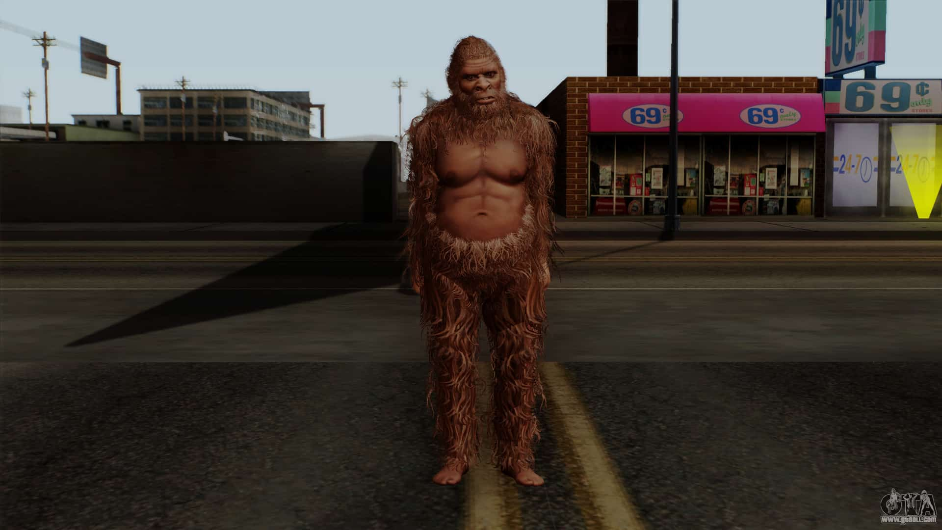 Bigfoot Roams Grand Theft Auto San Andreas – video game myth