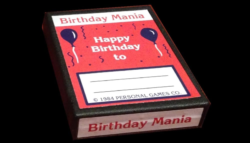 Birthday Mania – valuable video game