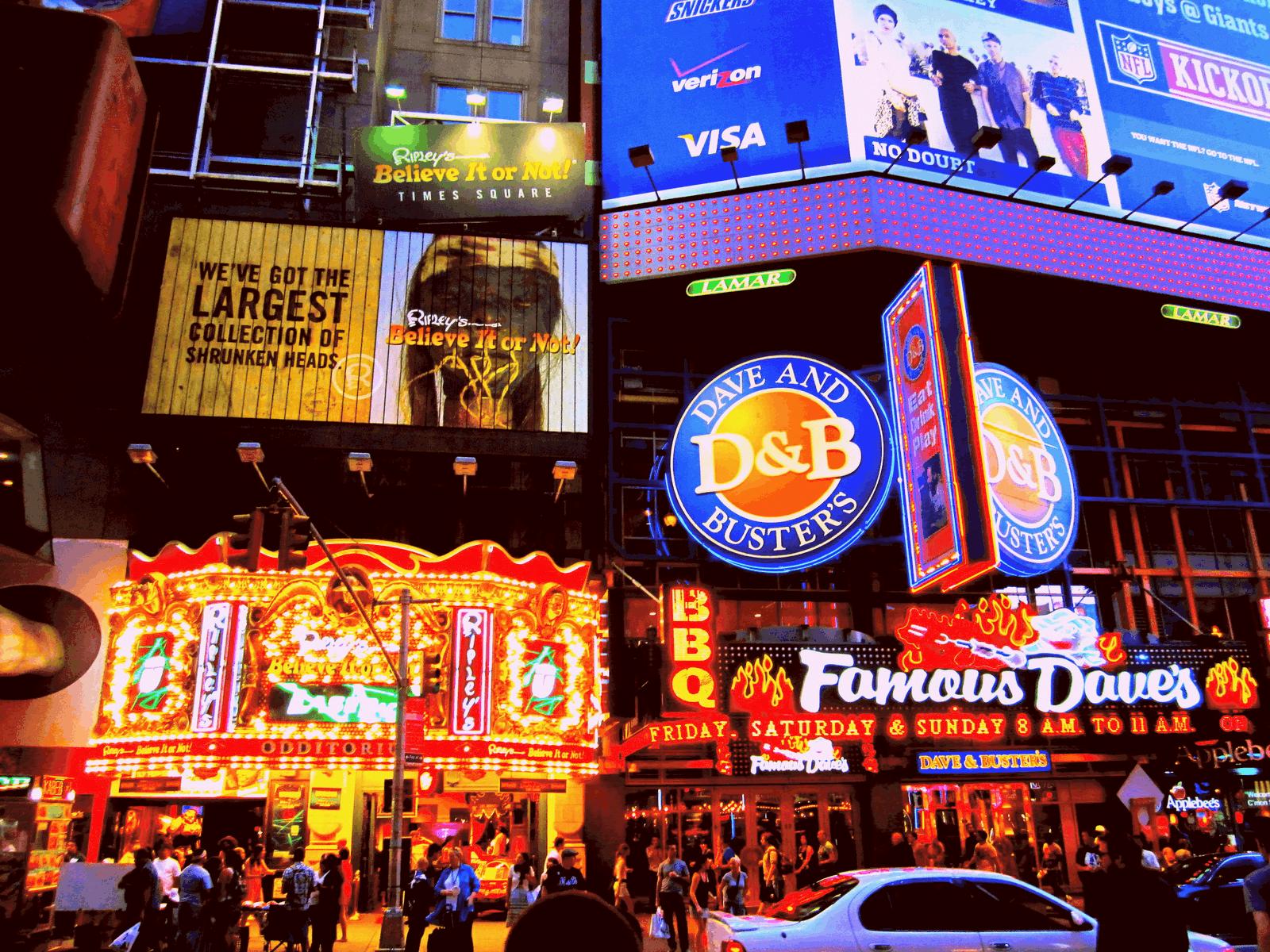 Chain Restaurants – NYC travel tip